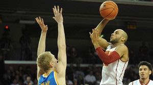 Men's: Basketball:USC takes down UCLA