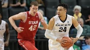Men's Basketball: Oregon holds off Utah