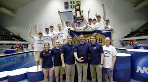 Queens University wins the 2016 DII Swimming & Diving Championship