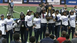 Lincoln University wins the 2016 DII Indoor Track & Field Championship