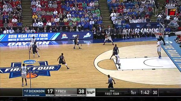 FDU vs. FGCU: D. Anderson layup