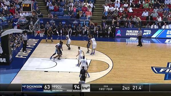 FDU vs. FGCU: B. Greene dunk