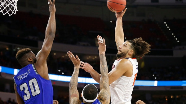 First Round: Virginia victorious over Hampton