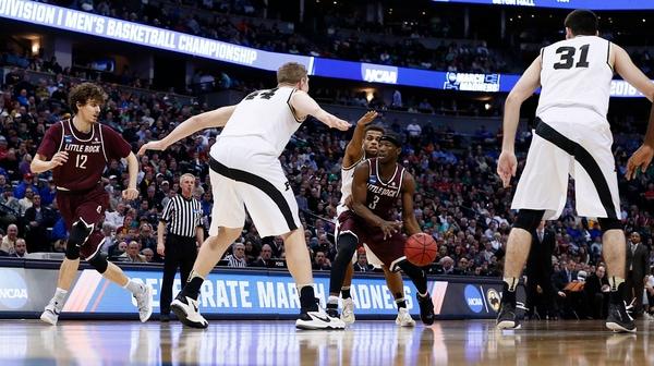 First Round: Arkansas-Little Rock upsets Purdue