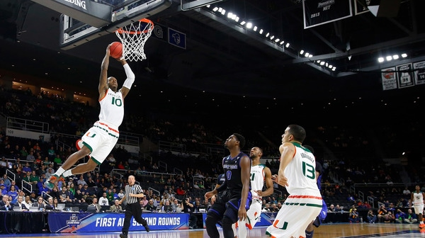 First Round: Miami tops Buffalo