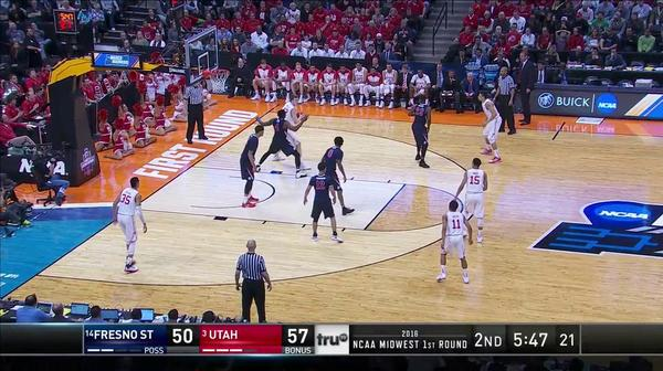 UTAH vs. FRST: J. Loveridge 3-pt