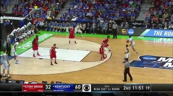 SB vs. UK: J. Murray dunk