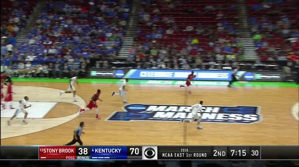 SB vs. UK: J. Warney dunk
