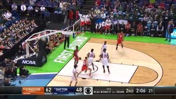 CUSE vs. DAY: T. Roberson alley-oop