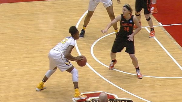 Women's Basketball: West Virginia holds off Princeton