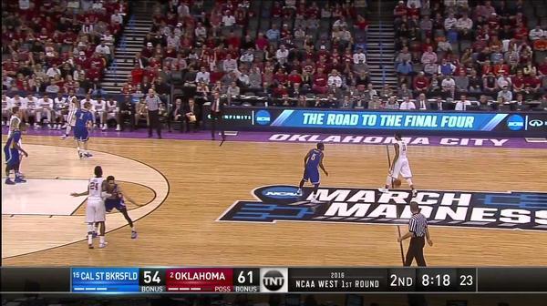 CSB vs. OKLA: D. Durham steal layup
