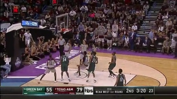 GB vs. TAMU: A Gilder dunk