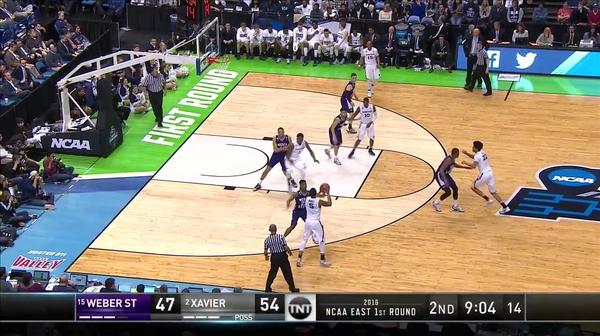 WEB vs. XAV: J. Reynolds dunk