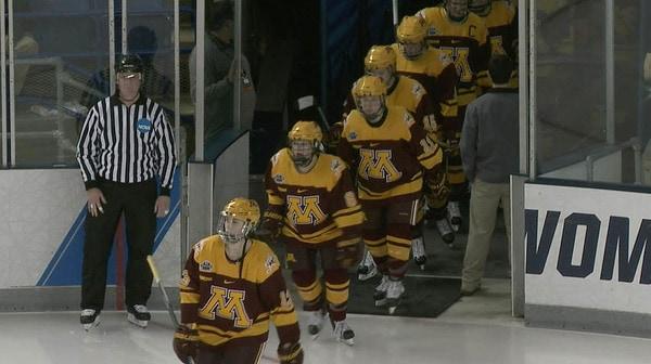 2016 NC Women's Ice Hockey: Semifinal Recap