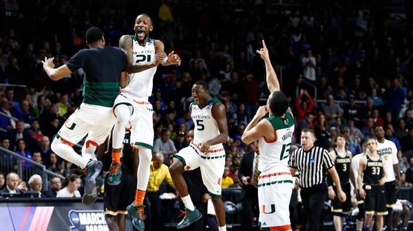 Second Round: Miami tops Wichita State