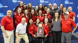 Georgia wins the 2016 DI Women's Swimming and Diving Championship