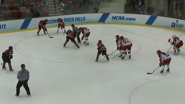 2016 DIII Women's Ice Hockey Championship: Wisconsin-River Falls vs. Elmira Full Replay