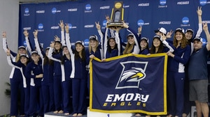 Emory wins the 2016 DIII Women's Championship