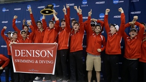 Denison wins the 2016 DIII Men's Championship