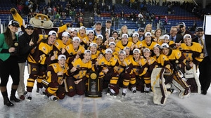Minnesota wins the 2016 NC Women's Ice Hockey Championship