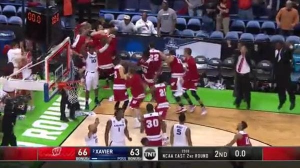 UW vs. XAV: B. Koenig 3-pt game winner