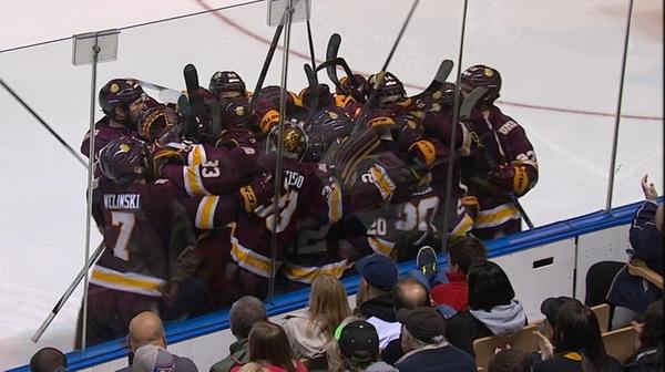 DI Men's Hockey: Minnesota-Duluth wins overtime thriller