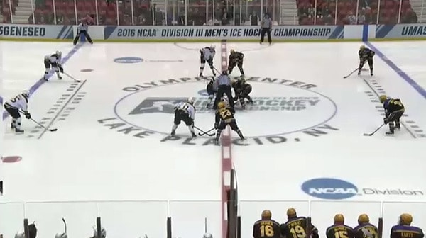 2016 DIII Men's Ice Hockey Championship: Wisconsin-Stevens Point vs. St. Norbert Full Replay