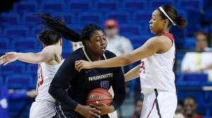 Women's Basketball: Washington advances to the Final Four