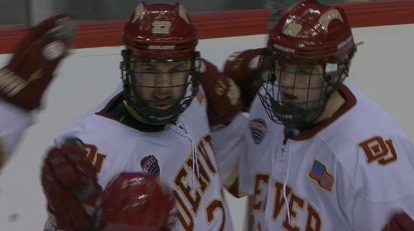 DI Men's Hockey: Denver advances to Frozen Four