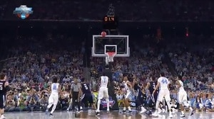 NOVA vs. UNC: P. Booth buzzer-beater