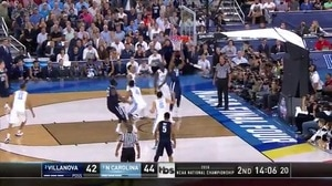 NOVA vs. UNC: M. Bridges dunk
