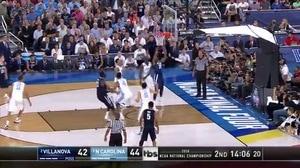 NOVA vs. UNC: M. Bridges dunk