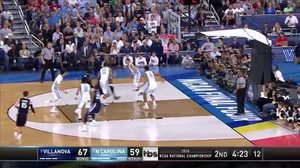 NOVA vs. UNC: B. Johnson dunk