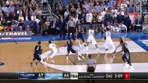 NOVA vs. UNC: P. Booth jumper