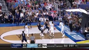 NOVA vs. UNC: J. Berry II 3-pt
