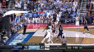 NOVA vs. UNC: B. Johnson bank-shot