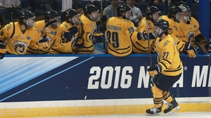 Frozen Four: Quinnipiac holds off Boston College