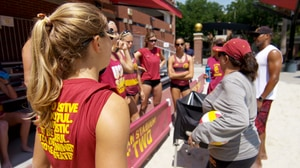 USC's Women of Troy take the sand