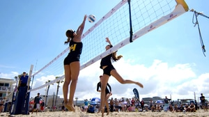 Beach Volleyball: Sand, Friend or Enemy?