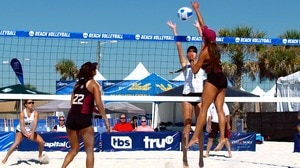 Beach Volleyball: Target on the #1 'Noles
