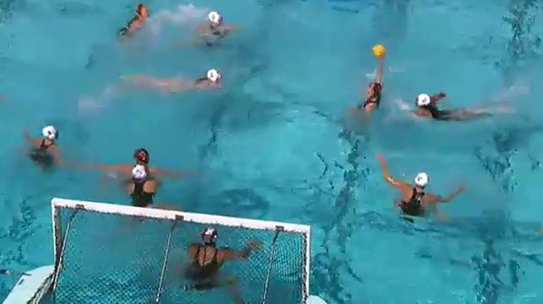 2016 NC Women's Water Polo First Round Full Replay: San Diego State vs. Southern California