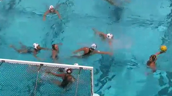 2016 NC Women's Water Polo Consolation Round Full Replay: San Diego State vs. Arizona State