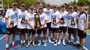 Bowdoin wins the 2016 DIII Men's Tennis Championship