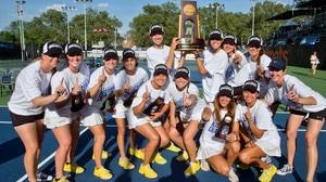 Emory wins the 2016 DIII Women's Tennis Championship