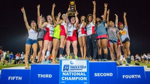 Pittsburg State wins the 2016 DII Women's Outdoor Track & Field Championship