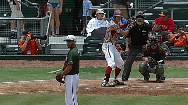 DI Baseball Super Regional: Miami vs. Boston College Game 2