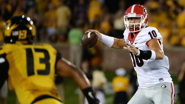 College Football: Georgia inches past Missouri