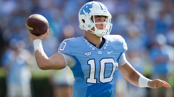 College Football: Hand Him The... North Carolina's Mitch Trubisky