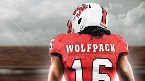 NC State Football: Diamond logo uniforms