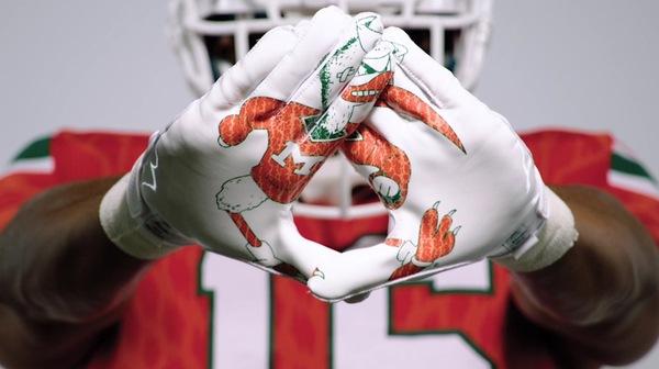 Miami Football: 'Legend of the U' uniforms